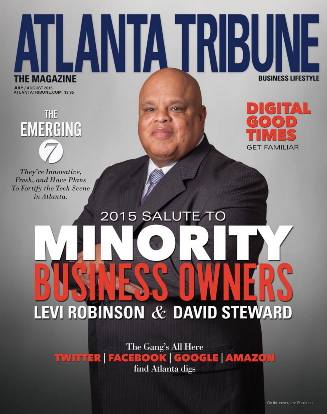 Atlanta Tribune Cover July:Aug 2015